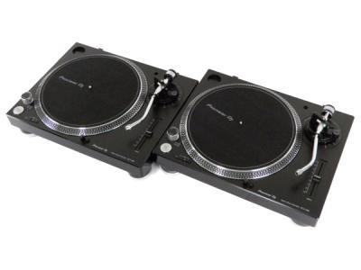 良品 Pioneer PLX-500-K ブラック ターンテーブル ターンテ 音響 2016年製
