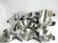 Amway アムウェイ クイーンクック 鍋 24ピースセット 調理器具の買取