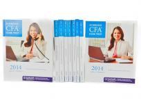 KAPLAN CFA Level II 証券アナリスト 2014年 教材