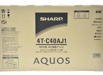 SHARP AQUOS 4T-C40AJ1 40型 4K 液晶 テレビ