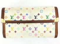 LOUIS VUITTON ルイヴィトン マルチカラー ポルトトレゾール インターナショナル 三つ折長財布 M92659