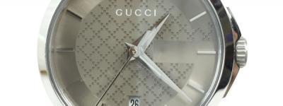 GUCCI グッチ YA126526 Gタイムレス コレクション デイト レディース クォーツ 腕時計