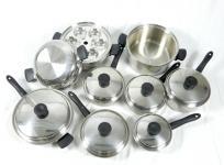 Amway クイーンクックウェア 22P セット 調理器具 鍋の買取