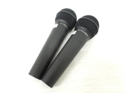 BEHRINGER Ultravoice XM8500 2本 セット ダイナミック マイク オーディオ 音響