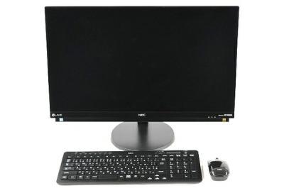 NEC LAVIE DA870/HAB PC-DA870HAB 液晶一体型 デスクトップ パソコン PC i7 7567U 3.5GHz 8GB HDD3TB Win10 Home 64bit ファインブラック