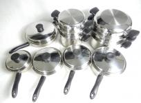 Amway クイーンクックウェア 18PC 調理器具 キッチン家電 調理 クッキングの買取