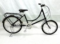KYOTO SAKULA ブラック サイクリング シティサイクル ギア有 お出かけ 移動 レジャー アクティビティ 大型