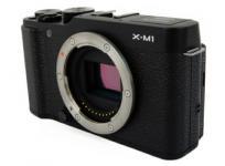 富士フイルム FUJIFILM X-M1 コンパクト ミラーレス 一眼 デジタル カメラ ボディ 機器