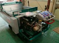 宮崎県日南市発 アテックス MSX650 デリカ 自走式 マニアローダ 推肥散布車 積載最大650kg 農機具 直の買取