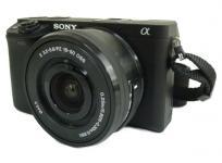 SONY ミラーレス一眼カメラ α6300 ILCE-6300L/B パワーズームレンズキット