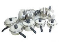 Amway クイーンクックウェア 24P 鍋セット 万能カップ1点欠品の買取