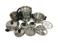 Amway クイーンクック 23P 料理 鍋 調理器具の買取