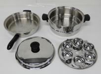 Amway クイーンクックウォック 16216 両手鍋 18/8 ステンレススチール 調理道具