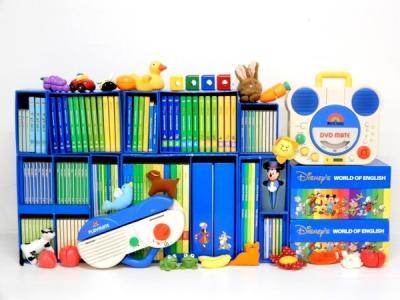 ワールドファミリー DWE ディズニー英語システム 教材 2008年頃