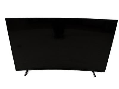 ジョワイユ Curved カーブ 55TVWHDCV 55V型 液晶 TV テレビ 3波 HDD 裏録対応 サウンドBASS 直下型LEDバックライト 湾曲画面 Wチューナー内蔵 大型