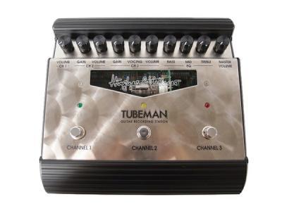 Hughes&Kettner ヒュースアンドケトナー TUBEMAN チューブマン プリアンプ 音響機材 器材 機器