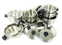 Amway アムウェイ クィーン クック ウェア 16 ピース セット 鍋 調理 器具 キッチンの買取