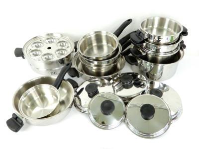 Amway アムウェイ クィーン クック ウェア 16 ピース セット 鍋 調理 器具 キッチン