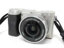 SONY α6000 ILCE-6000L 16-50mm パワーズームレンズキット ミラーレス 一眼 カメラ