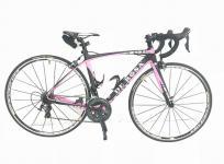 DE ROSA デローザ IDOL 47サイズ ブラックピンク カーボン フレーム 自転車 アルテグラ