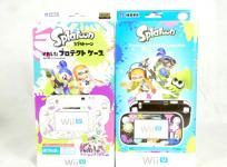 Nintendo Wii U ゲームパッド プロテクト ケース スプラトゥーン for Wii U GamePad