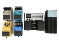 BOSS 大量 エフェクター EQ-20 OD-3 AW-3 PS-5 CS-3 5個 セット 音響機材