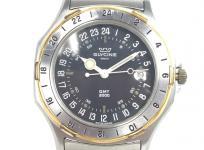 GLYCINE グリシン GMT2000 クォーツ 腕時計 メンズ