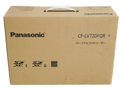 Panasonic パナソニック CF-LV72DFQR Let's note レッツノート モバイル ノート パソコン