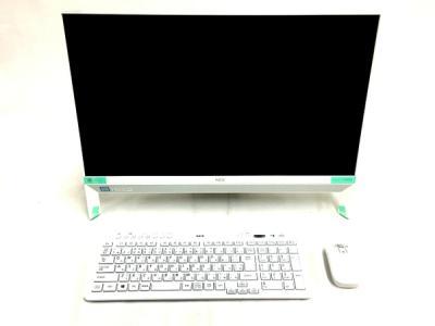 NEC LAVIE DA700/KAW PC-DA700KAW 液晶一体型 デスクトップ パソコン PC 23.8型 i7 8550U 1.8GHz 4GB HDD1TB Win10 Home 64bit ファインホワイト