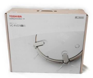 TOSHIBA 東芝 TORNEO トルネオ VC-RVD1 ロボット掃除機 グランホワイト