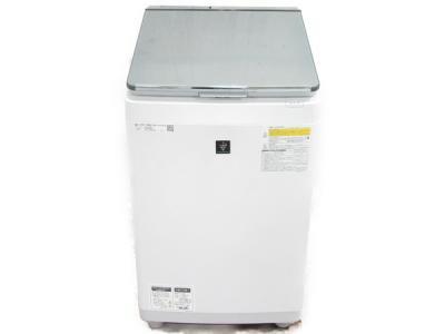 SHARP ES-PU11C-S プラズマクラスター 洗濯乾燥機 11kg 2018年製 大型