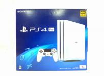 SONY PlayStation4 Pro 1TB CUH-7200B B02 グレイシャー・ホワイト ゲーム機 ソニー 家電