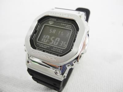 CASIO G-SHOCK カシオ Gショック GMW-B5000-1JF フルメタルケース Bluetooth対応 プラバンド 電波ソーラー腕時計