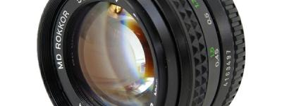 MINOLTA MD ROKKOR 50mm F1.4 単焦点 レンズ