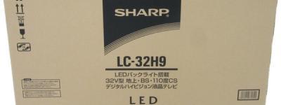 SHARP シャープ AQUOS LC-32H9 液晶テレビ LED 32型 LED ブラック