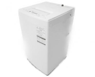 TOSHIBA AW-45M5 (W) 洗濯機 18年製 4.5kg 家電 ホワイト系 大型