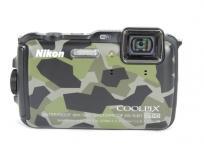 NIKON ニコン Coolpix クールピックス AW120 デジカメ 迷彩 デジタルカメラ