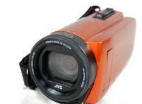JVC Everio エブリオ GZ-RX680-D ビデオカメラ 64GB オレンジ ケース付