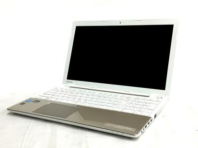 TOSHIBA dynabook T554/45LG PT55445LSXG ノート パソコン PC 15.6型 i3 4005U 1.7GHz 4GB HDD1TB Win8.1 64bit ライトゴールド