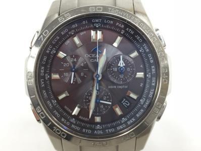 CASIO OCEANUS カシオ オシアナス OCW-600 ソーラー電波 腕時計 クロノグラフ メンズ