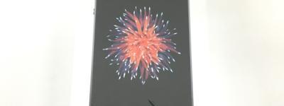 Apple iPhone SE MP822J/A 32GB UQモバイル スペースグレイ 4型 スマートフォン