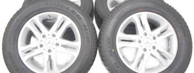 未装着 BRIDGESTONE ブリジストン メルセデス・ベンツ ゲレンデ Gクラス G350D 純正 18インチ H29年モデル