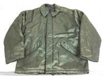 USA製 ALPHA 2610 中綿ジャケット ミリタリージャケット カーキ アルファ サイズ40 メンズ