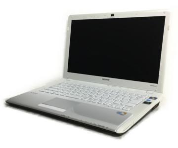 SONY VAIO VPCCW18FJ ノート パソコン PC 14型 C2D P8700 2.53GHz 4GB HDD500GB Win7 Home 64bit G210M ホワイト