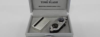 Zippo ジッポー5survival tools TIME FLASH No.0304 ケース 付