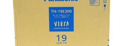 Panasonic パナソニック VIERA TH-19E300 液晶テレビ TV 2017年製 Hi-Vision 19型 地デジ