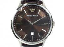 EMPORIO ARMANI エンポリオアルマーニ AR2413 ブラウン文字盤 クォーツ 腕時計 メンズ