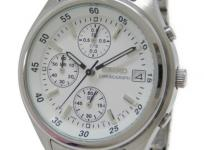 SEIKO セイコー クロノグラフ V657-7100 腕時計 クォーツ メンズ