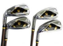 MAJESTY PRESTIGIO GOLD PREMIUM 2010 ゴルフクラブアイアンセット 6 7 8 Pw 4本セット