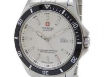 SWISS MILITARY スイスミリタリー 10100M メンズ クォーツ 腕時計 デイト